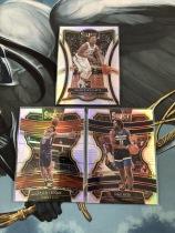 Z【ZXW】<<苏州卡通>> SELECT RC 新秀 银折 SILVER 3张一起 威廉姆斯 二级+纳兹-里德+杰伦-勒丘(品见大图)