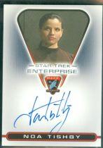 美剧 星际迷航 Star Trek 诺亚 蒂士比 Noa Tishby 签字 签名
