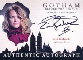 美剧 DC 哥谭 Gotham 芭芭拉 Barbara Erin Richards 签字