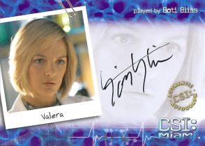 美剧 CSI Miami Vrela Boti Bliss 签字 签名