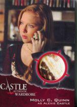 美剧 灵书妙探 Castle Alexis 莫莉奎恩 Molly Quinn 实物卡 戏服
