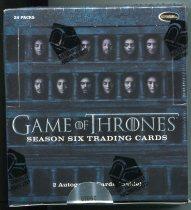 Game Of Thrones Season Six 美剧 权力的游戏 第6季 整盒盒卡 未拆封 (仅2盒/第1盒)