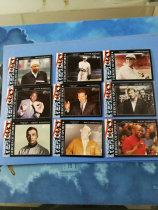【ZQ-Z 拍卖,邮费见描述】杂卡 TOPPS 2009 美国名人 魔术师 棒球传奇米奇·曼托 带队9张一起 (黑色切割,边容易泛白,介意勿拍)