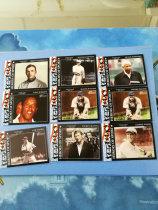 【ZQ-Z 拍卖,邮费见描述】杂卡 TOPPS 2009 美国名人  棒球传奇米奇·曼托 带队9张一起 (黑色切割,边容易泛白,介意勿拍)