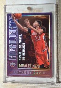 2016-17 NBA HOOPS 鹈鹕 浓眉哥 安东尼*戴维斯 Hight Light 高光 特卡 实卡 美如画 (卡砖只用于拍照)