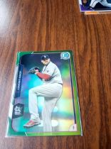 2015 Bowman Chrome 波士顿红袜 Lackey 绿折 25/99