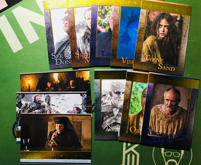2018 权力的游戏 Game of thrones 第七季 150编 11张打包——LJ