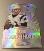 NFL 橄榄球 爱国者 汤姆 布雷迪 Tom Brady 空中元帅特卡 切割折射卡