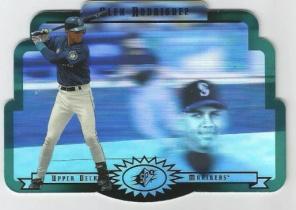 MLB 传奇名人堂 美国职棒大联盟 alex rodriguez  摇头镭射 切割卡