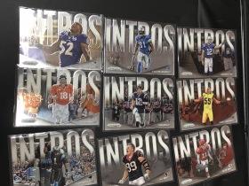 NFL 橄榄球 INTROS 球员出场镜头切割特卡 汤姆 布雷迪 jj watt 大本 威震天 佩顿曼宁 牛顿 雷刘易斯  LOT20 一套
