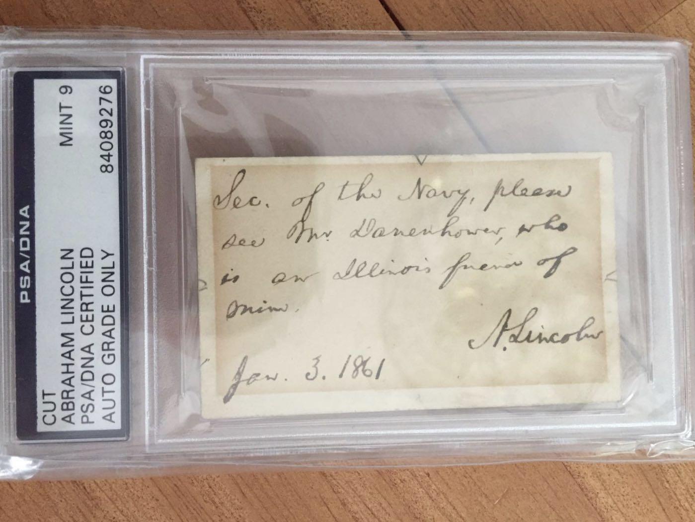 亚伯拉罕 林肯 本人9月27至10月9日外出  期间不能发卡 见谅