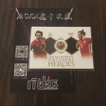 【MOKA球星卡收藏】#1804283 2018 Futera 福特拉 威尔士双人实物 贝尔 乔阿伦 /37编