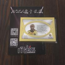 【MOKA球星卡收藏】#1804289 2018 Futera 福特拉 比利时 孔帕尼 横版 金框24k 1of1 1编1 实物 GU 大窗patch