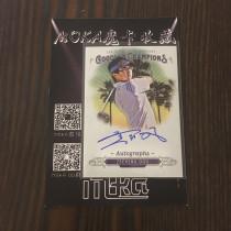 【MOKA球星卡收藏】#1804304 2018 Goodwin 古德温 签字 中国人 高尔夫 签字 窦泽成