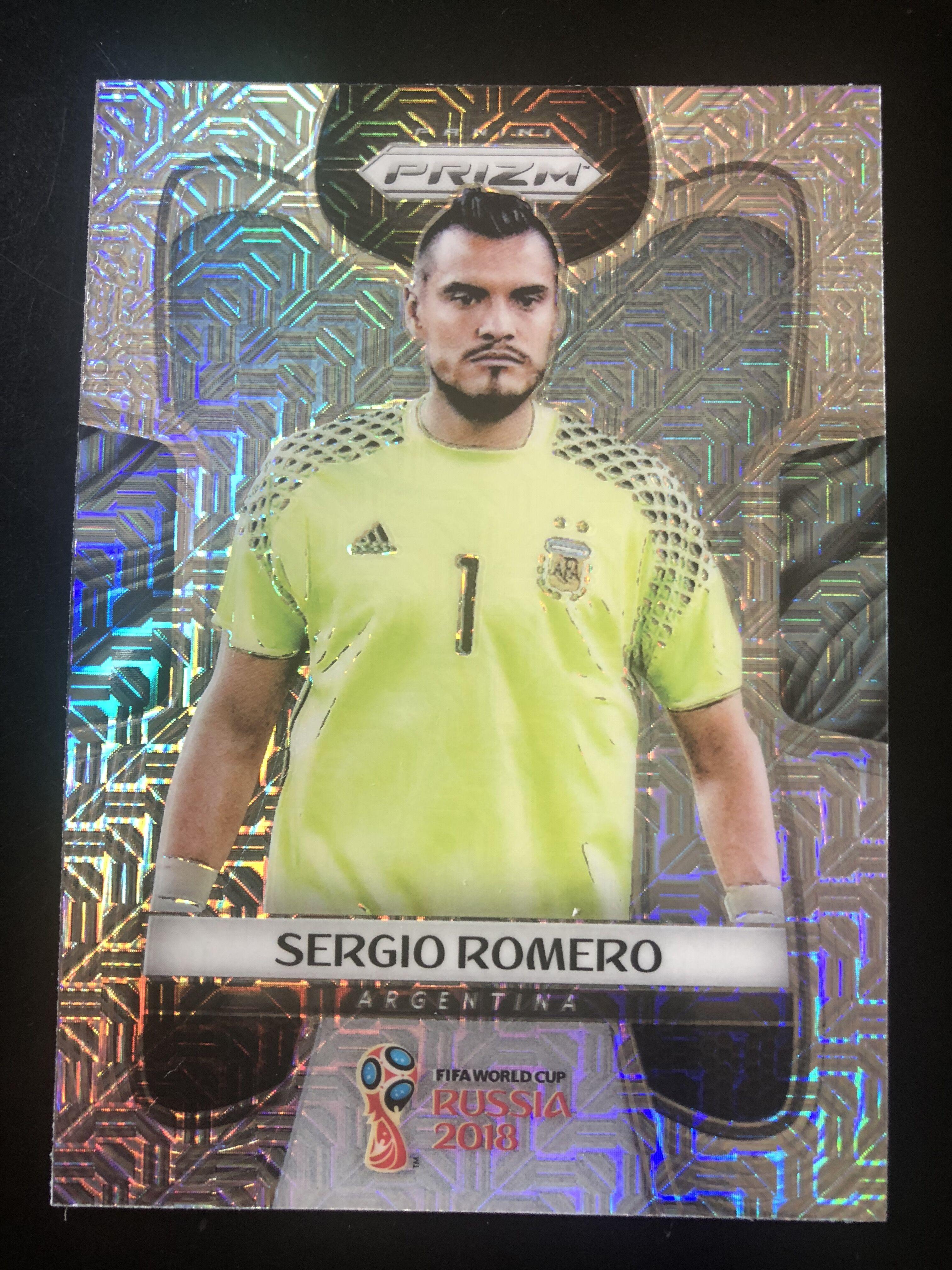 2018 prizm 世界杯 罗梅罗 阿根廷 mojo折射 no.3