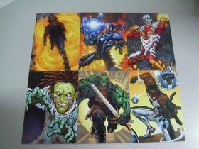 2013 寒武纪 DC超人系列 蓝甲虫 死亡射手 玩具商 弗兰肯斯坦 卓越先生 6张打包 LM