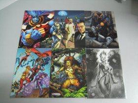 寒武纪 DC 超人 女英雄 超级反派 普卡 特卡 6张打包 LM