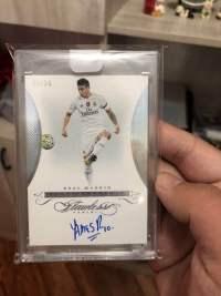 2015-16 Flawless Soccer 手提箱 J罗  哈梅斯·罗德里格斯 James Rodríguez 03/25 编 卡签,实卡超级漂亮,原封砖!