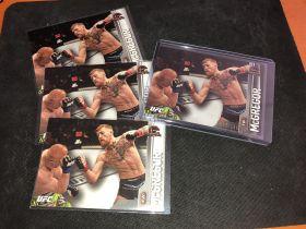 conor mcgregor 嘴炮 UFC 终极格斗 卡片 左边15/张, 右边188限量=20