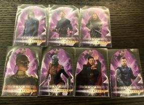 【Joker收藏卡拍卖hb】UD无限战争 力量宝石特卡一套七张 美队、雷神、奇异博士等 【注意请仔细阅读描述】