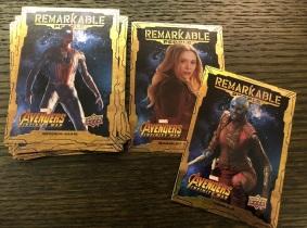 【Joker收藏卡拍卖hb】UD无限战争  Remarkable People 20张特卡一套 20位英雄个人卡 【注意请仔细阅读描述】