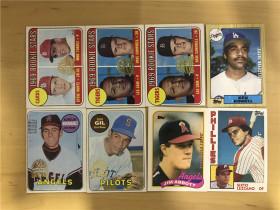 2018 MLB Topps Hertige 50周年回购Vitage 卡  打包 8张(都是上世纪 60-80年来的老卡)