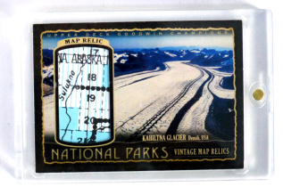 【23ING官方代卖】2018 UD GOODWIN系列 国家公园 地图卡 SSP 03/17限量 手写编(含砖)KT4004