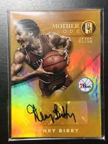 【Lucky球星卡店官方代拍-WL 10.17】15-16 Panini Gold Standard 金砖篮球 亨利·毕比 45/99编Mother Lode版签字卡!76人名宿!迈克·毕比的父亲!