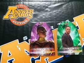 B005《答案卡世界》拍卖 2018 UD漫威 复仇者联盟3 无限战争 刀女 & 绿巨人 POWER TIME 宝石 折射 特卡 lots