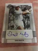 【薛之谦拍卖】Leaf出品2018末年网球盒,ATP男网球员大卫马丁完美签