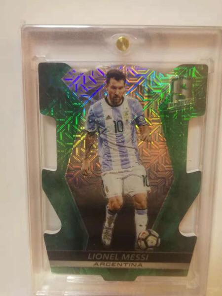 足球光谱系列 球王梅西5遍异形切割5/5 巴塞罗那 阿根廷
