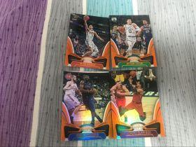 18-19 PANINI 卫生巾系列  打包图上4张橙版折射普卡 全部99编 凑套必备   (呜噜)