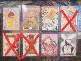 五张打包 官卡 手绘卡