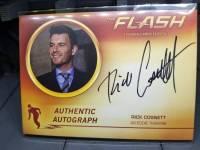 闪电侠 Flash 艾迪警探 Rick Consnett 签字