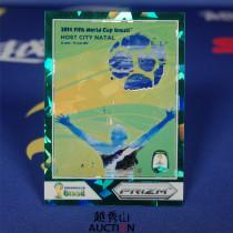 【越秀山拍卖】巴西世界杯2014-城市海报特卡 07#纳塔尔 24/25 经典水晶绿折-YXS830009