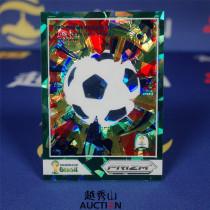 【越秀山拍卖】巴西世界杯2014-城市海报特卡 12#圣保罗 02/25 经典水晶绿折-YXS830013