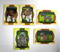 【23ING官方代卖】UD 18Goodwin系列 5张刺绣狗 打包 一张猎犬 KT5242