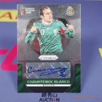 【越秀山拍卖】俄罗斯世界杯2018-墨西哥 布兰科 签字卡 完美墨迹签字-YXS830113