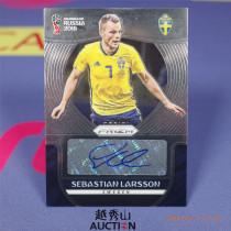 【越秀山拍卖】俄罗斯世界杯2018-瑞典 拉尔森签字-YXS830233