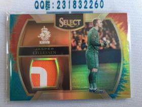 【HenryHouse卡店专卖】Panini Select 荷兰 KNVB 巴萨 西莱森 14/30 扎染patch!!!!!!!mlg