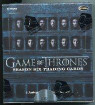 Game Of Thrones Season Six 美剧 权力的游戏 第6季 整盒盒卡 未拆封 (仅2盒/第2盒)