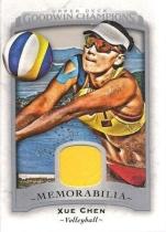 Upper Deck UD Goodwin 薛晨 实物卡 球衣 沙滩排球 沙排世界冠军