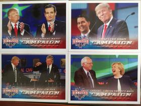 2016 大选盒  4lots 辩论阶段 桑德斯VS希拉里克林顿 特朗普VS布什 川普 特朗普VS克鲁兹