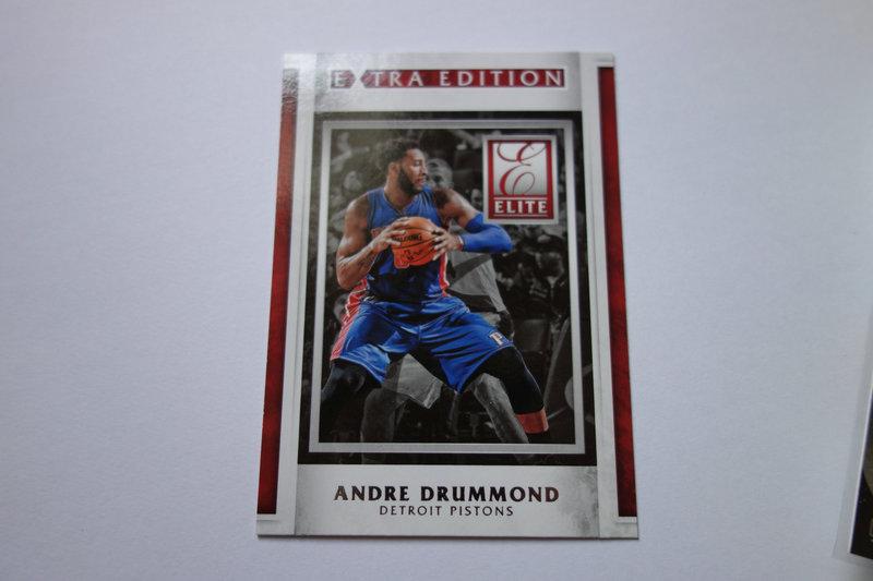 【ZQ-一元 拍卖,邮费见描述】篮球  特卡 ANDRE DRUMMOND 安德烈·德拉蒙德