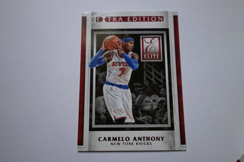 【ZQ-一元 拍卖,邮费见描述】篮球  特卡 CARMELO ANTHONY 卡梅隆·安东尼