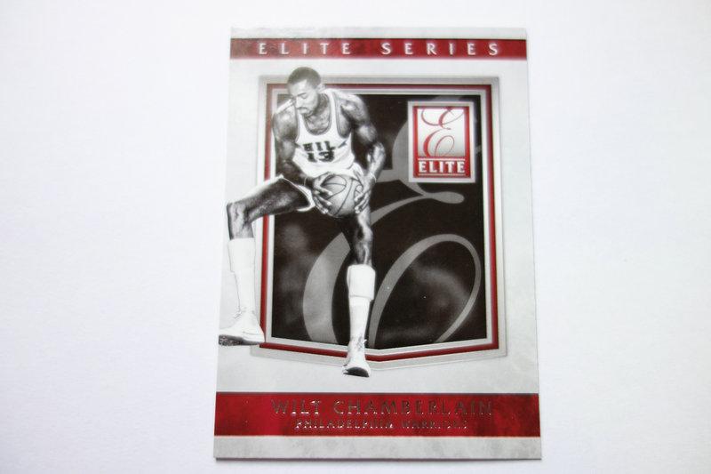 【ZQ-一元 拍卖,邮费见描述】篮球  特卡 WILT Chamberlain  威尔特·张伯伦