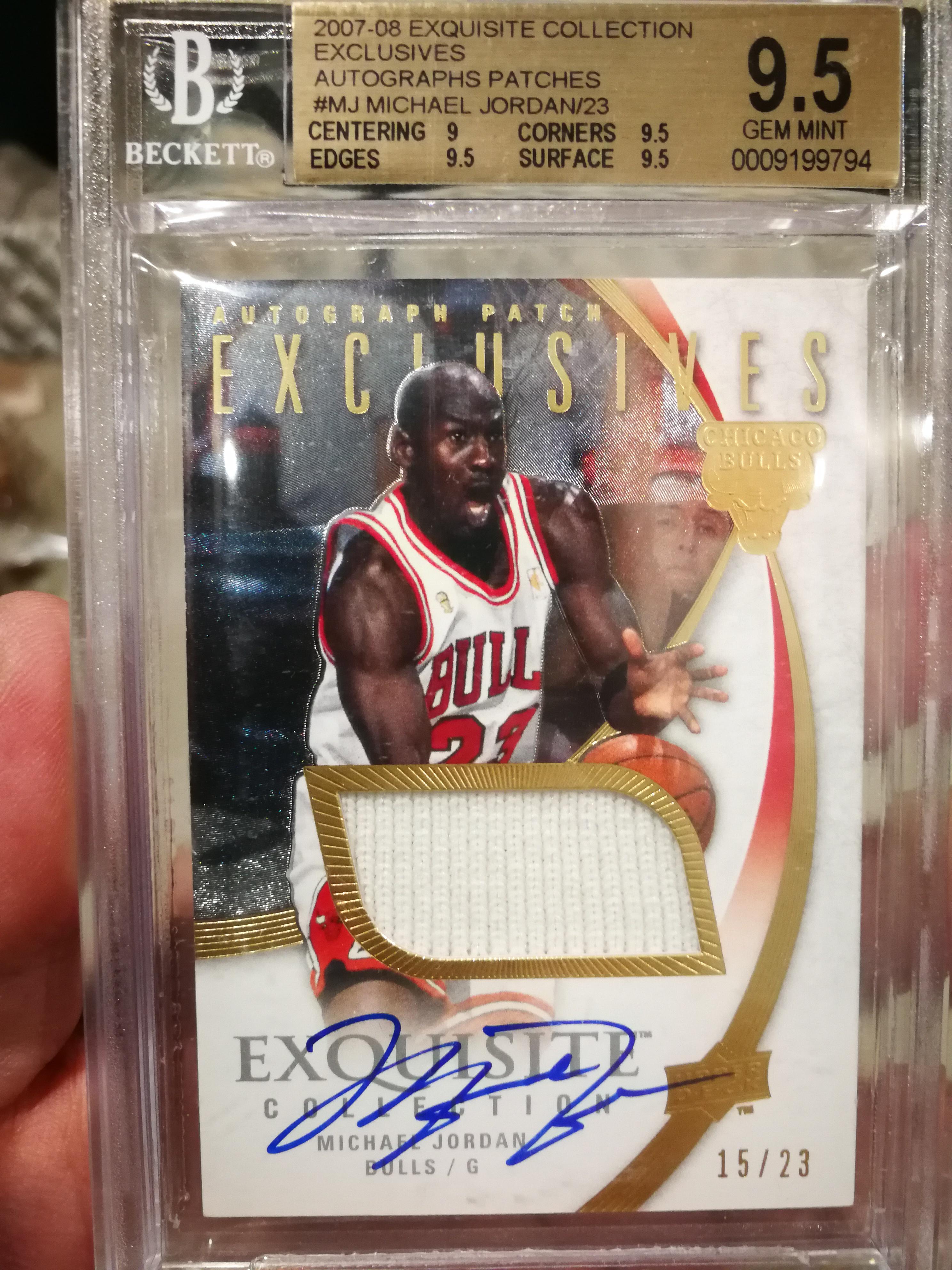 邁克爾喬丹 Michael Jordan MJ 喬幫主木盒,金標,簽字 公牛球衣 卡簽