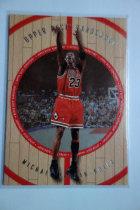 【1118】<<苏州卡通球星卡>> MICHAEL JORDAN 迈克尔·乔丹 1998 UD木头系列 23-A# 第一版 SP