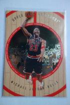 【1118】<<苏州卡通球星卡>> MICHAEL JORDAN 迈克尔·乔丹 1998 UD木头系列 23# 第二版 SP