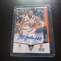 【退坑出卡】2019 古德温 签字卡 欧洲 篮球运动员 杰夫布鲁克斯!卡签!稀有!值得收藏!(注意看描述)